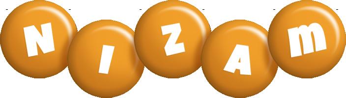 Nizam candy-orange logo