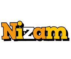 Nizam cartoon logo