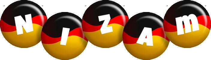 Nizam german logo