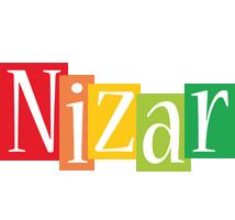 Nizar colors logo