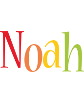 Noah birthday logo
