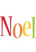 Noel birthday logo