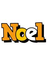Noel cartoon logo