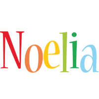 Noelia birthday logo