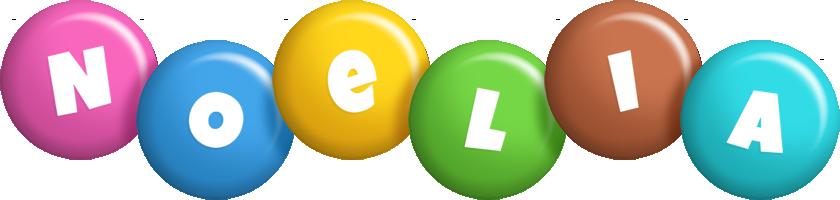 Noelia candy logo