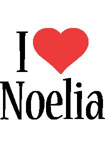 Noelia i-love logo