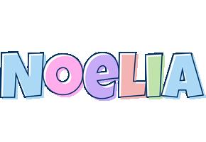 Noelia pastel logo