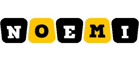 Noemi boots logo