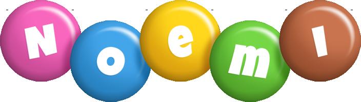 Noemi candy logo