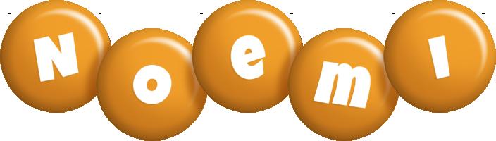Noemi candy-orange logo