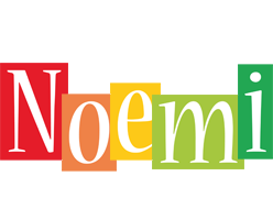 Noemi colors logo