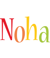 Noha birthday logo