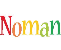 Noman birthday logo