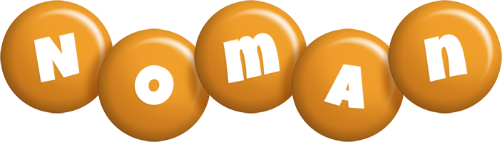 Noman candy-orange logo