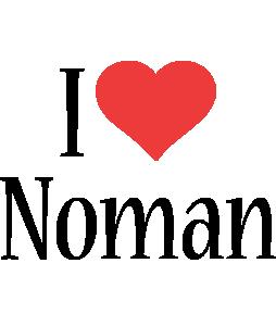 Noman i-love logo