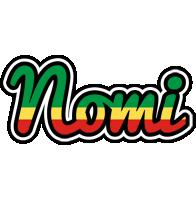 Nomi african logo