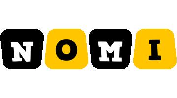 Nomi boots logo