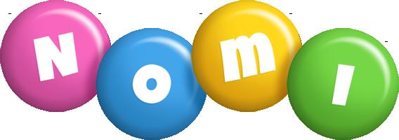Nomi candy logo