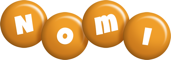 Nomi candy-orange logo