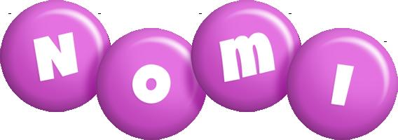 Nomi candy-purple logo
