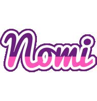 Nomi cheerful logo