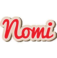 Nomi chocolate logo