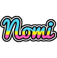 Nomi circus logo