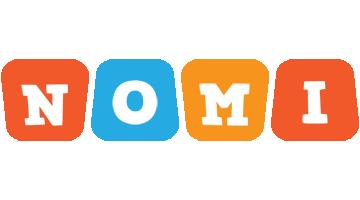 Nomi comics logo