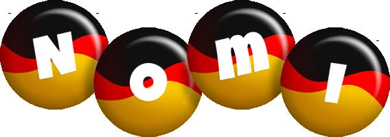 Nomi german logo