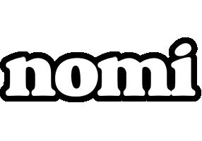 Nomi panda logo