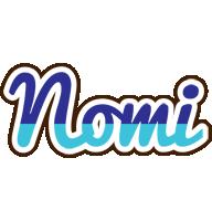 Nomi raining logo