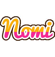 Nomi smoothie logo