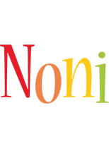 Noni birthday logo