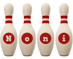 Noni bowling-pin logo
