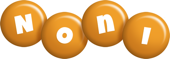 Noni candy-orange logo