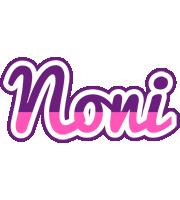 Noni cheerful logo