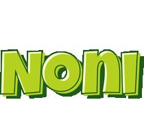 Noni summer logo