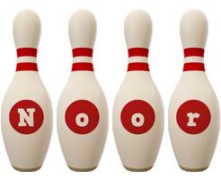 Noor bowling-pin logo