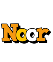 Noor cartoon logo