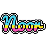 Noor circus logo
