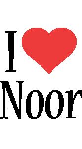 Noor i-love logo