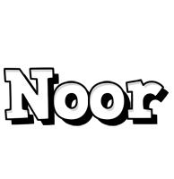Noor snowing logo