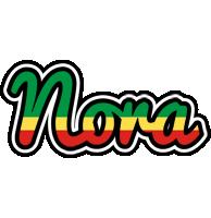 Nora african logo