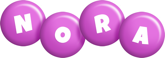 Nora candy-purple logo