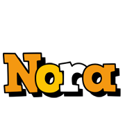 Nora cartoon logo