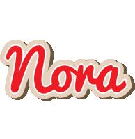 Nora chocolate logo