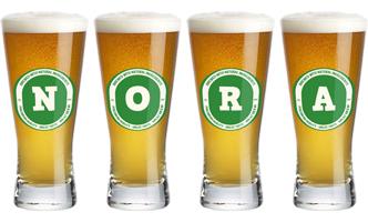Nora lager logo