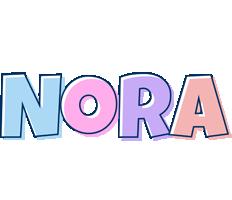 Nora pastel logo