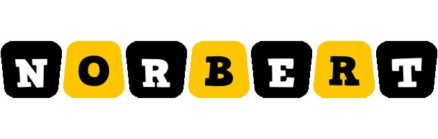 Norbert boots logo