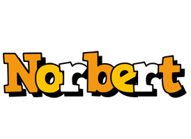 Norbert cartoon logo